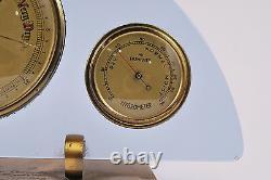 1950`s vintage antique weather station hygrometer, thermometer, barometer
