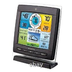 5 in 1 Home Weather Station Wireless Sensor Color Display Temperature Forecast