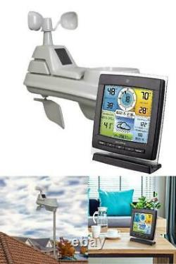 5 in 1 Home Wireless Weather Station Sensor Humidity Wind Temperature Speed 0152