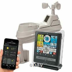 5-in-1 Wireless Weather Temperature Forecaster Measure Barometric Pressure LED