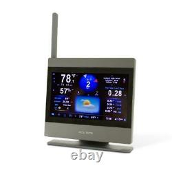 AcuRite Atlas Weather Station Touchscreen Display Temperature Humidity Rainfall