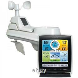 AcuRite Iris (5-In-1) Weather Station With Temperature Humidity Gauge Rainfall