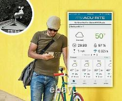AcuRite Iris 5-in-1 PRO+ Weather Station with Direct to Wi-Fi Display 01544M
