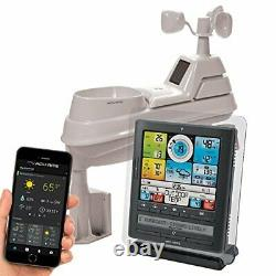 AcuRite Pro Weather Station with 5-in-1 Weather Sensor, PC Connect, Wind and