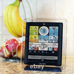 AcuRite Wireless Weather Station Indoor Outdoor Clock Wind 5 in 1 Weather Sensor