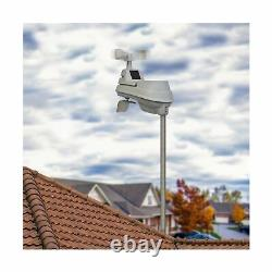 Acurite 01036M Wireless Display Version2 Weather Station Programmable Alarm Gray