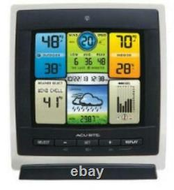 Acurite Pro Color Weather Station With Wind Speed 330 Ft Desktop, Wall