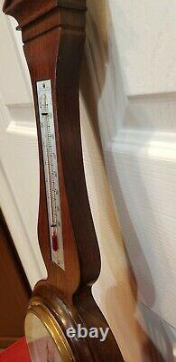 Airguide Antique Canterbury Barometer Fee & Stemwedel Weather Station 20 Tested