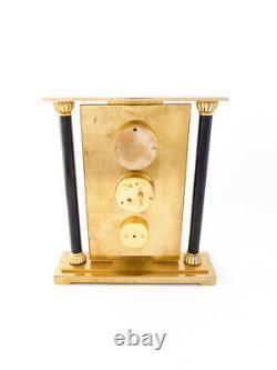 Amazing rare LeCoultre desk clock weatherstation with 8 days Barometer etc