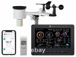 Ambient Weather WS-2000 Smart Weather Station w WiFi Remote Monitoring & Alerts