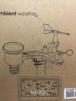 Ambient Weather WS-2902C Wireless Weather Station BRAND NEW IN BOX WITH MANUAL