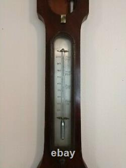 An 1850s Weather Station by H. Pearce, Grantham England Barometer Thermometer
