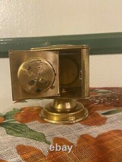 Antique Angelus Weather Station Clock Hygrometer Thermometer Barometer Compass