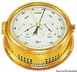 BARIGO Weather Station 180mm Barometer Thermometer Hygrometer Windmeter