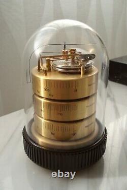 BENCHMARK Dome La Cupola Desk Barometer Thermometer Hygrometer WEATHER STATION