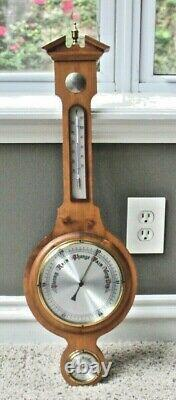 Banjo Wall Weather Station Barometer Thermometer Hygrometer 28 made in Germany