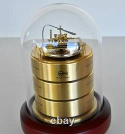 Barigo 3026 Barometer Hygro Thermo Brass Weather Station Germany
