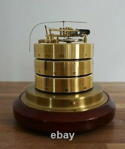 Barigo Barometer Thermometer Hygrometer Desktop Brass Weather Station Germany