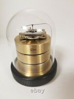 Barigo Weather Station Barometer Thermometer Hygrometer glass dome
