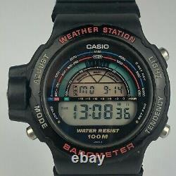 Casio Mens BM-500W (923) Japan Weather Station Barometer Watch