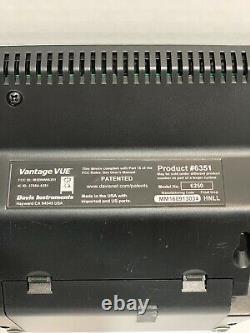 Davis Instruments 6250 Vantage Vue Wireless Weather Station Console Only. READ