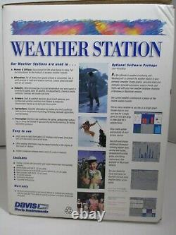 Davis Instruments Complete Weather Station Model 7440CS Open Box New in Box