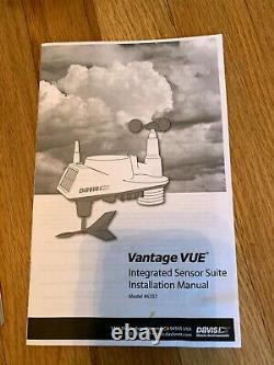 Davis Instruments Weather Station Vantage Vue Sensor Suite and Console 6351/6357