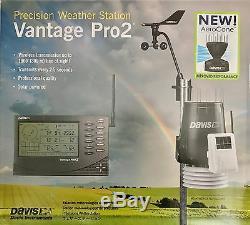 Davis Vantage Pro2 Professional Wireless Weather Station 6152UK NEW