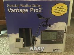 Davis Vantage Pro2 Weather Station Cabled 6152c