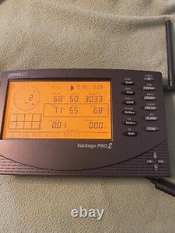Davis Wireless Weather Station Vantage Pro2 plus 6163 with 24-Hr Fan Aspirated
