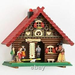 Exclusive German Black Forest Weather House TU 846 Stations Garden & Outdoor