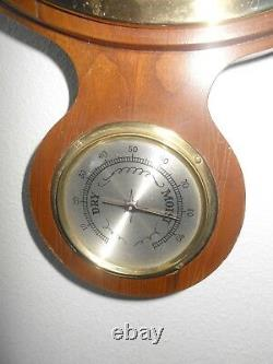 Fabulous Vintage Airguide Compensated Barometer Weather Station 38 Tall