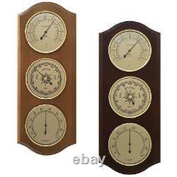 Fischer Weather Station 15 Barometer Thermo-&Hygrometer #9178 Made in Germany