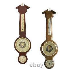 Fischer Weather Station 21 Barometer Thermo-&Hygrometer #4673 Made in Germany