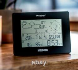 Holman iWeather Digital Weather Station Wind Speed Direction Rainfall and Temp