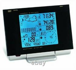 Honeywell Weather Station Atomic Clock Rain Gauge, Barometer, Thermometer wind