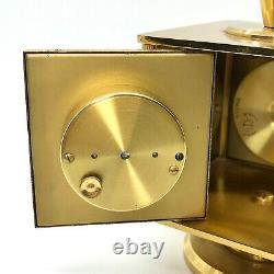 Imhof Bucherer Weather Station Clock Barometer Hygrometer Thermometer EUC