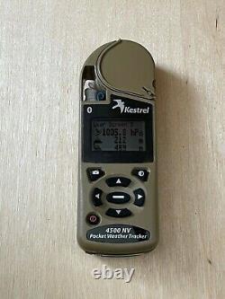 Kestrel 4500 NV Portable Weather Station Used