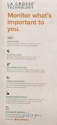 LA CROSSE Professional Wireless Weather Station 5 in 1 -NEWEST