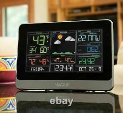 La Crosse 5-in-1 Weather Station Indoor Outdoor Temperature Wind Rain Barometer