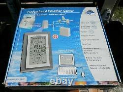 La Crosse Professional Weather Station Center 2317 New Open Box