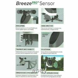 La Crosse Technology Wireless Wi-Fi Wind & Weather Station with Breeze Pro Sensor