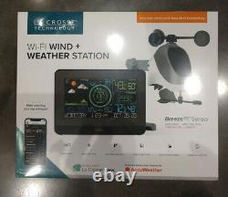 La Crosse Wi-Fi Wind and Weather Station with Breeze Pro Sensor 2020 Model