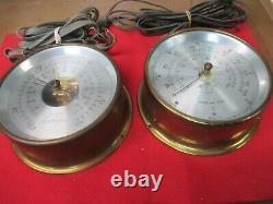 Maximum Weather Station 2 gauges Wind Barometer Gauges only