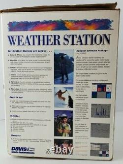 NEW Davis Instruments Complete Weather Station Model 7440CS (L5)