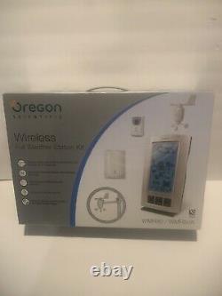 NEW OREGON SCIENTIFIC Wireless Full Weather Station Kit WMR80/ WMR80A