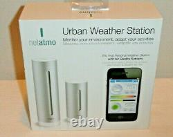 Netatmo Smart Urban Weather Station Indoor Outdoor Air Quality Sensors NWS01-US