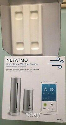 Netatmo home Smart Weather Station