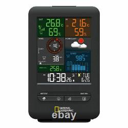 New 5 in 1 Weather Station Monitors Inside/Outside Temp & Humidity national Use