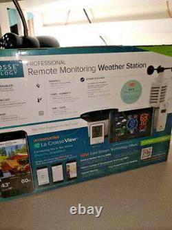 New La Crosse Technology Professional Remote Monitoring Weather Station with BONUS